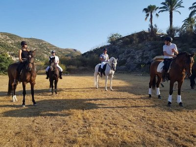 Horse riding through Cullera with monitor 1h 30 m