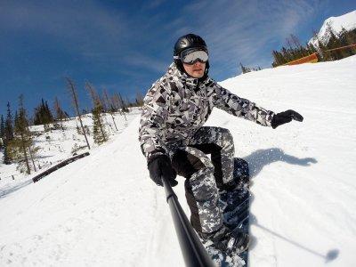 Surfin Sierra Nevada Snowboard