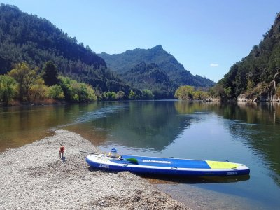 Paddle surf route through Benifallet 2 hours