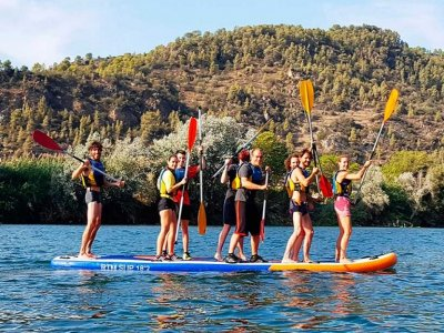 Paddle surf route big Benifallet 2 hours