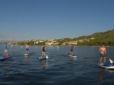 Paddle surf tour Puerto de Alcudia 1,5 h children