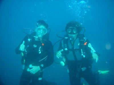 Diving baptism in Benidorm Island 4 hours