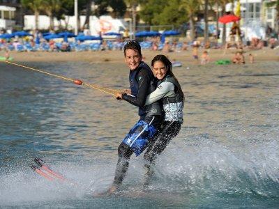 Water skiing in Benidorm coast 90 min