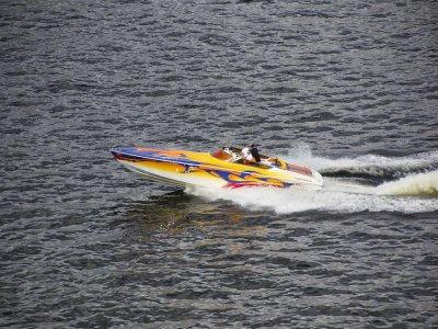 Speedboat ride in Benidorm coast for 30 min