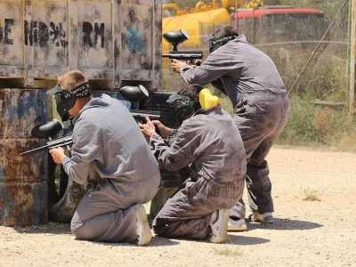Paintball with BBQ and open bar in Benidorm