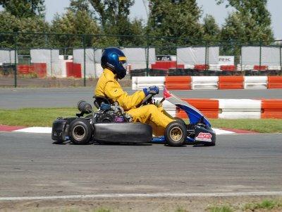 10 minute karting round in Benidorm