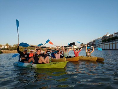 Kayak tour in Seville for 2 hours