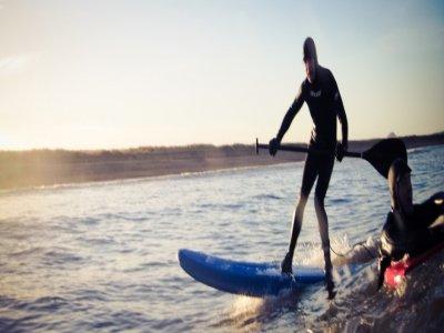 Coast to Coast Surf School Paddle Boarding
