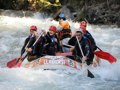 Rafting from Llavorsí to Rialp 2h with Barbecue