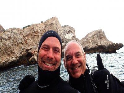 Diving baptism in Serra Gelada for 3 hours
