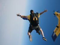 Solo freefall with arms open