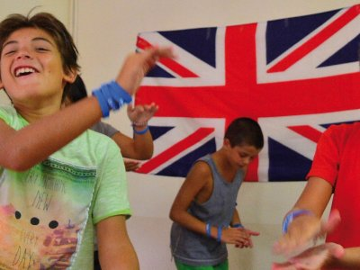 English and adventure camp in Centelles