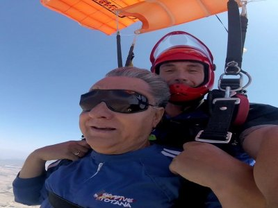 Parachute jump Father's Day in Totana