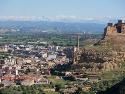 Guided tour of Monzón and castle access 3 h