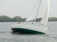 Sailing on Westbere Lake