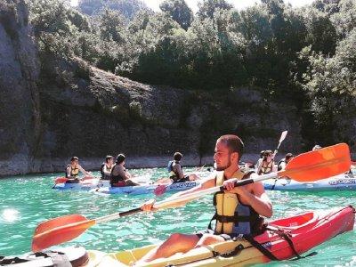 Guided kayak tour San Lorenzo de Morunys 3h