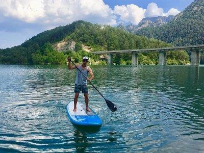 Paddle surf equipment rental Llosa del Cavall 1h