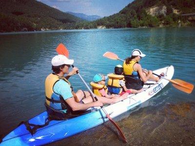 Kayak rental children La Llosa del Cavall 1 hour