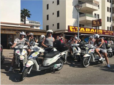 Scooter and car rental in Puerto Alcúdia 1 day