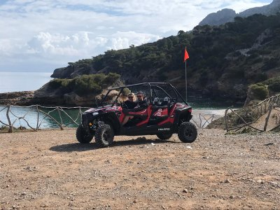 Guided buggy route through Alcúdia 3 hours