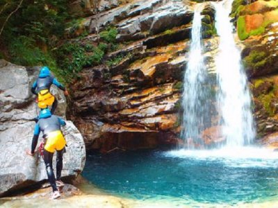 Canyoning and paddle surf in Escalona