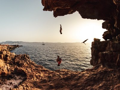 Coastering and snorkeling in Ibiza 2 hours
