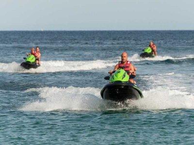 Jet ski tour to Es Vedrá Island 2 hours