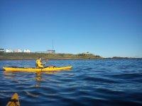 Kayaking in St Andrews.