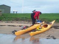 Kayaking in Fife.