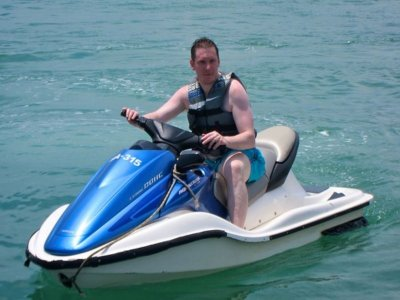 Jet ski route for two people in Riaño 1h