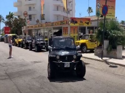Guided 4x4 tour and drinks from Cala Millor 6 h