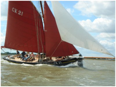 Suffolk Yacht Harbour Sailing