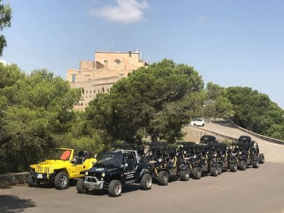 4x4 tour from Cala Millor 4 seats 3 hours