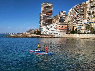 Paddle surf initiation course in Alicante 2 hours