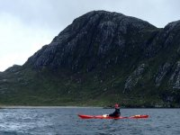 Sea kayaking around the Isle of Harris