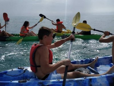 Kayak initiation course in Alicante 2 hours