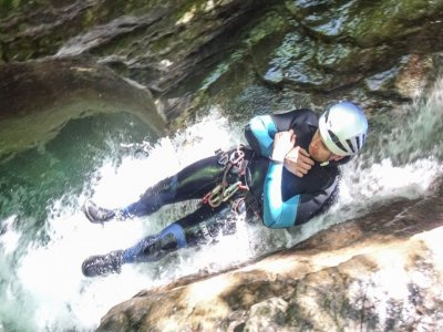 Ravine of Viandico level I in Valle del Ara 3 h