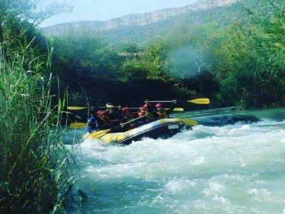 Guadalope river rafting and photographs Teruel