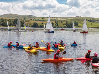 Hollingworth Lake Water Activity Centre Kayaking