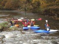 Rafting in Rochdale.