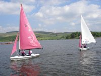 Lean to sail in Rochdale.