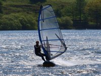 Learn to windsurf in Lancashire.