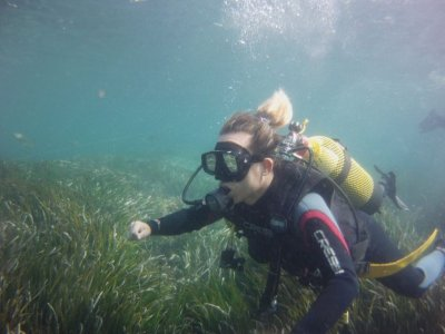 Diving baptism with photographic report Calpe 2h