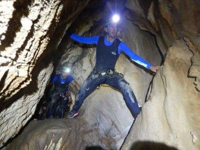 Caving with monitor Buraca das Choias 3 hours