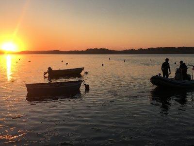 Boat ride on the Mogro estuary 1 hour
