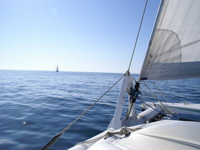 Sailboat rental with skipper in Santander 1 day
