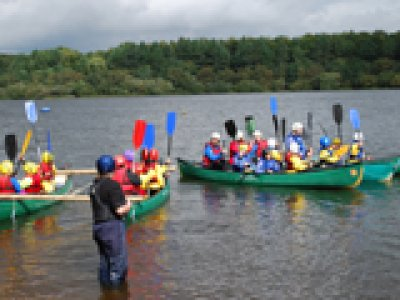 The Anderton Centre Canoeing