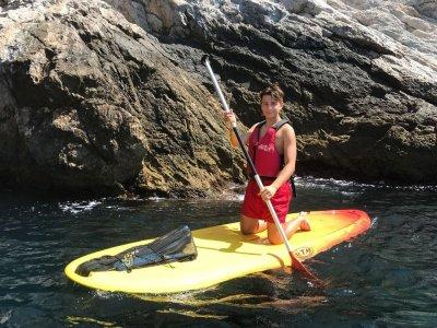 Paddle surf and snorkelling route Maro Cerro Gordo