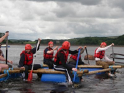 The Anderton Centre Rafting