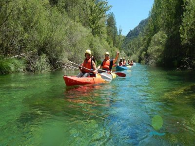 Canoe rental in San Juan reservoir 1 hour